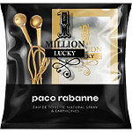 Paco Rabanne Online Only FREE Headphones w/a large spray purchase of 1 Million Eau de Toilette from the Paco Robanne fragrance collection
