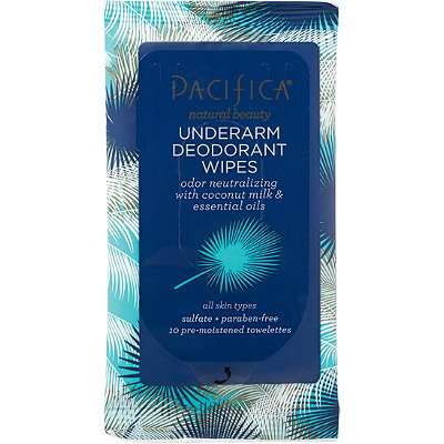 FREE Deodorant Wipes w/any $20 Pacifica purchase