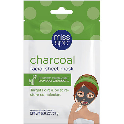 Online Only Charcoal Facial Sheet Mask
