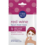 Miss Spa Online Only Red Wine Facial Sheet Mask