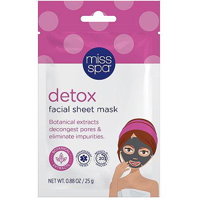 Online Only Detox Facial Sheet Mask