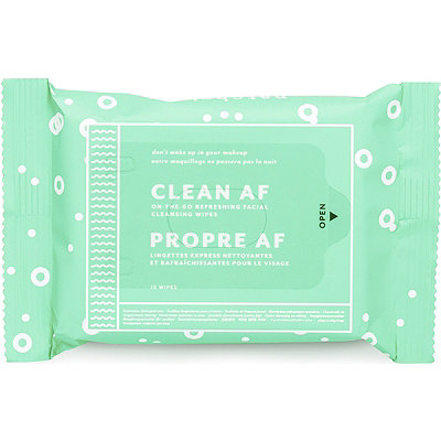 Online Only FREE Clean AF Facial Cleansing Wipes w/any $15 Patchology purchase