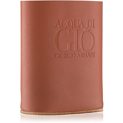 Online Only FREE Bottle Sleeve w/any large spray Giorgio Armani Acqua di Gio fragrance collection purchase