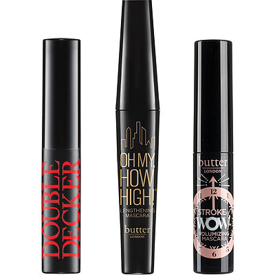 Online Only! FREE 3 Pc Mascara sampler w/any $40 Butter London purchase