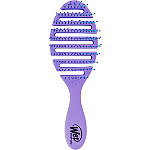Purple with Blue Bristles Flex Dry Brush