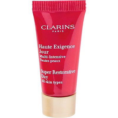 FREE Deluxe Super Restorative Day Cream w/any $50 Clarins purchase