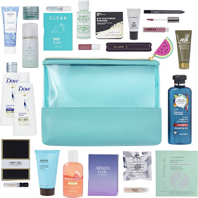 FREE 21 Pc Watermelon Beauty Bag with any $75 online purchase
