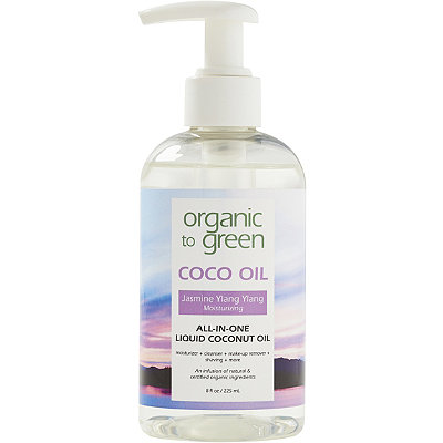 Online Only FREE Jasmine Coco Oil w/any $75 Organic to Green purchase