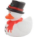 Snowman Bath Ducky