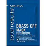 Matrix Travel Size Total Results Brass Off Custom Neutralization Hair Mask