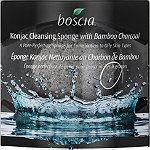 Online Only Konjac Cleansing Sponge with Bamboo Charcoal