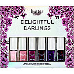 Butter London Online Only Delightful Darlings 6-Piece Nail Lacquer Set
