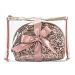Holiday Rose Gold Sequin 3 Piece Purse Kit