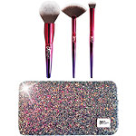 Your Rockstar Brushes! Limited Edition 3 Pc Brush Set + Glitter Clutch