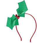 Jingle Bell Holly Headband