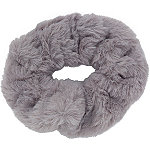 Riviera Grey Large Faux Fur Twister