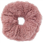 Large Faux Fur Twister-Pink