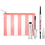 Benefit Cosmetics Online Only Brows Come NATURALLY! ''Full-Sized Eyebrow Set'' Shade 3 (warm light brown)