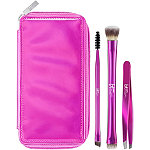 IT Brushes For ULTA Your Must-Have Travel Brushes For Eyes & Brows 3 Pc Set