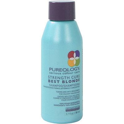 Travel Size Strength Cure Best Blonde Purple Shampoo