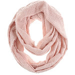 Capelli New York Light Pink Solid Loop Scarf