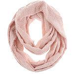 Light Pink Solid Loop Scarf