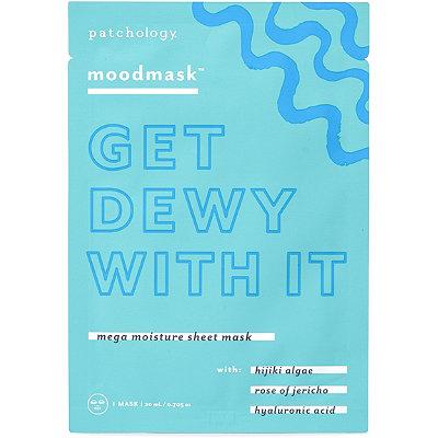 Online Only moodmask ''Get Dewy With It'' Mega Moisture Sheet Mask