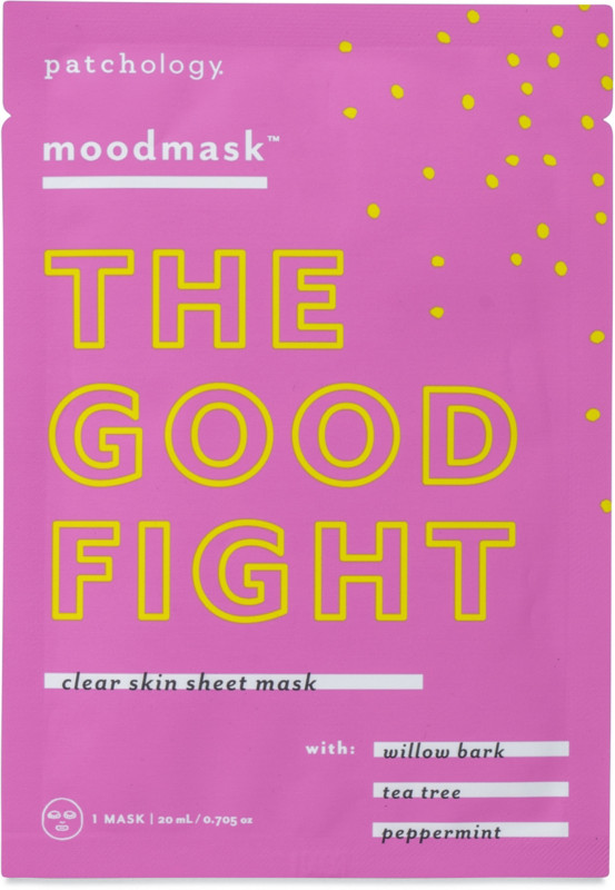 Online Only moodmask ''The Good Fight'' Clear Skin Sheet Mask