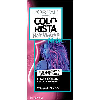 Colorista Hair Makeup 1-Day Hair Color Neon For Bleached And Light Blondes