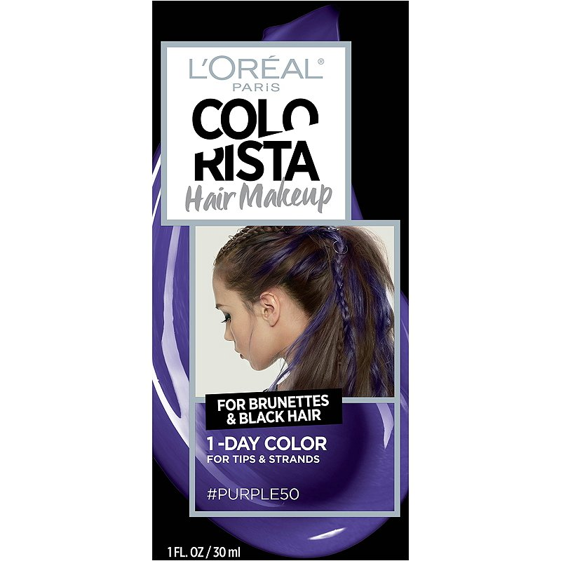 Colorista Hair Makeup 1-Day Hair Color For Brunettes And Black Hair