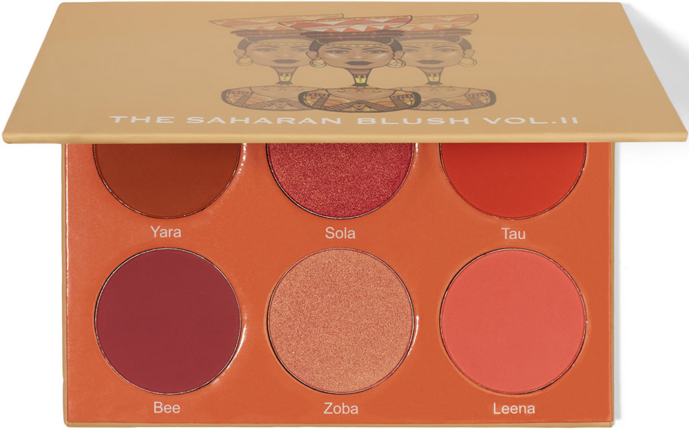 Blush & Brighten Face Palette by the vintage cosmetic company #5