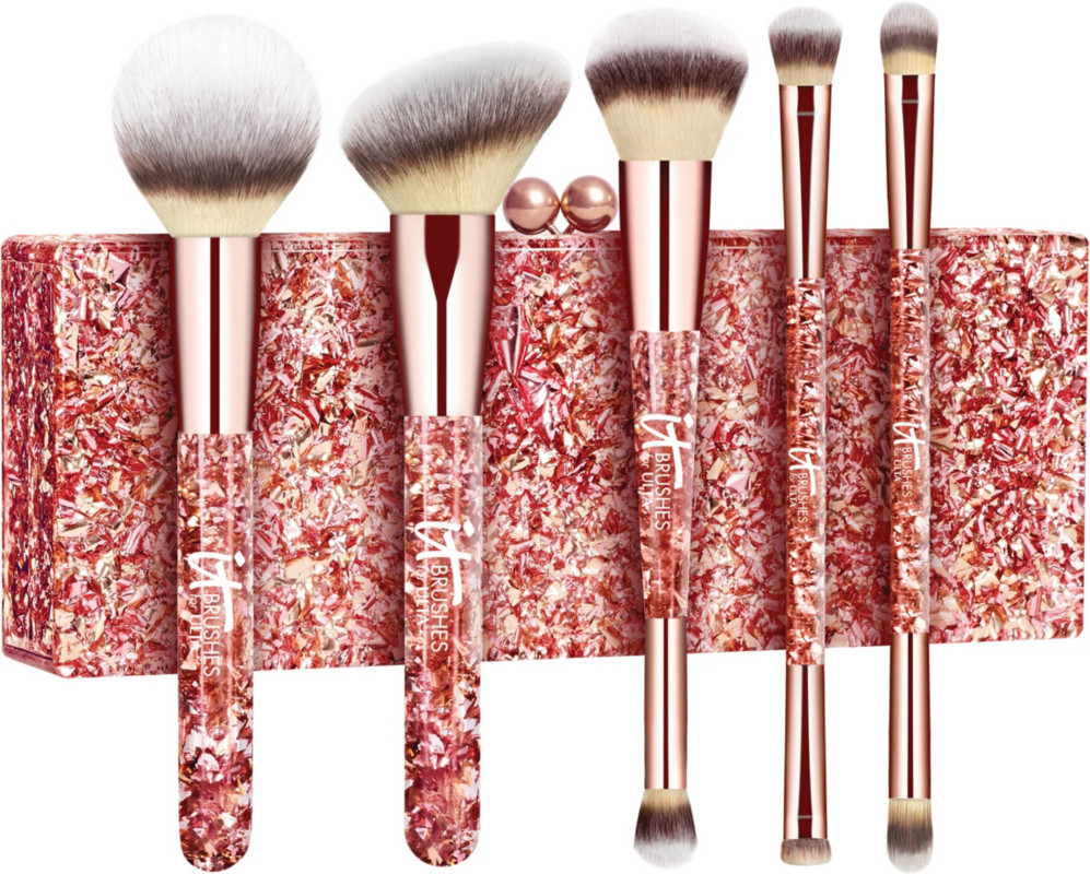 IT Brushes For ULTA Online Only Your Glam Must-Haves 5 Pc Brush Set + Exclusive Clutch | Ulta Beauty