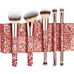 Your Glam Must-Haves 5 Pc Brush Set + Exclusive Clutch