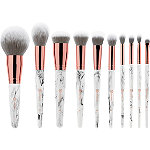 BH Cosmetics Marble Luxe - 10 Pc Brush Set