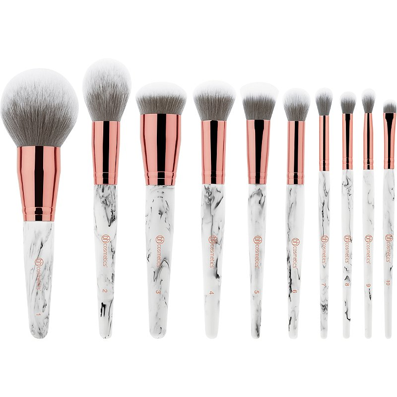 Bh Cosmetics Marble Luxe 10 Pc Brush