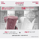 Essie Online Only Gel Couture Nail Polish + Top Coat Kit