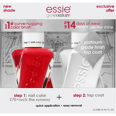 Online Only Gel Couture Nail Polish + Top Coat Kit