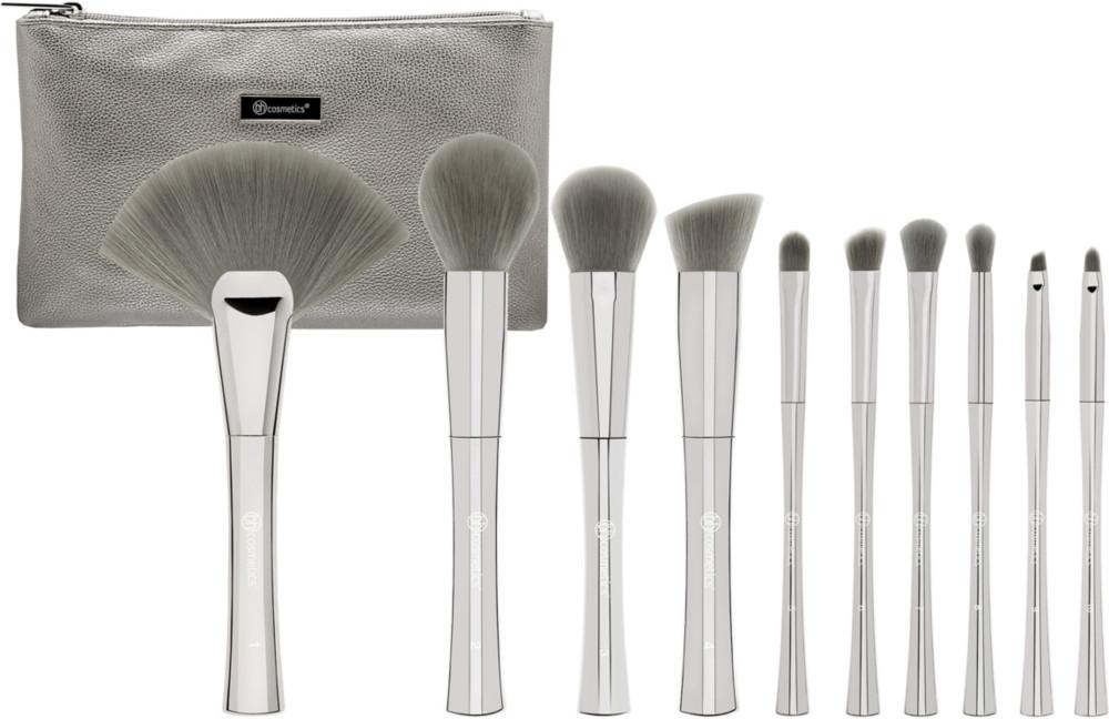 d08548ca6fff9 BH Cosmetics Smoke N Mirrors - 10 Pc Brush Set with Cosmetic Bag ...