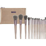 BH Cosmetics Lavish Elegance - 15 Pc Brush Set With Cosmetic Bag