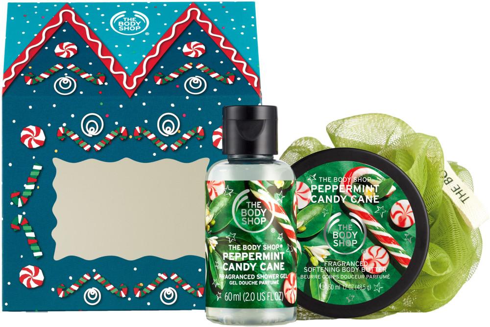 The Body Shop Peppermint Candy Cane Body Care Trio Ulta Beauty