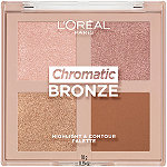 Chromatic Bronze Highlight and Contour Palette