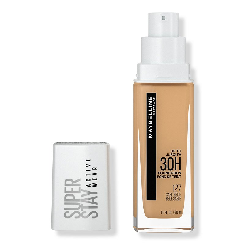 maybelline 24 hour superstay foundation