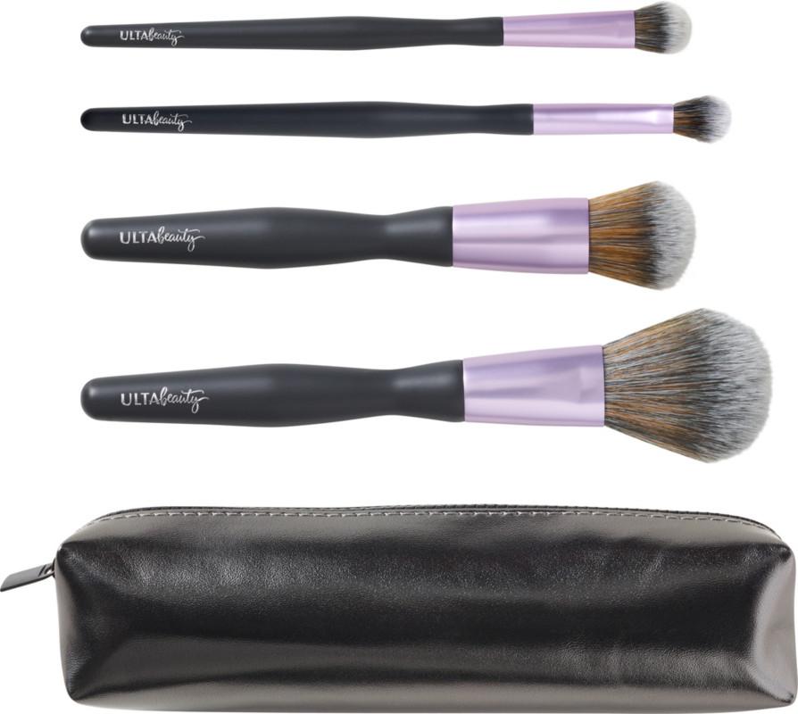 ULTA 4 Piece Flawless Face & Eye Brush Kit