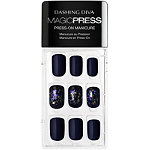 Dashing Diva Online Only Magic Press In the Navy Press-On Gel Nails