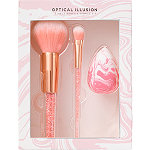 ULTA Optical Illusion 3 Piece Brush & Sponge Kit