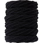 Scünci Seamless Black Elastics 6 Ct