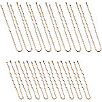 Kitsch Industrial U Pins in Rose Gold 18 Pc