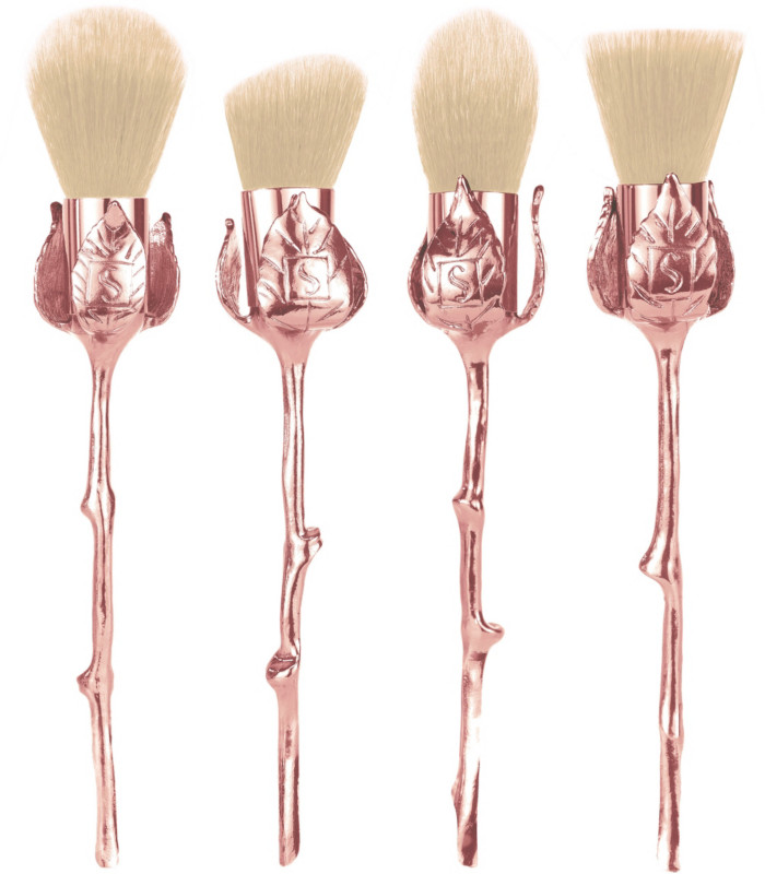 Online Only Limited Edition Rose Cosmetic Brushes