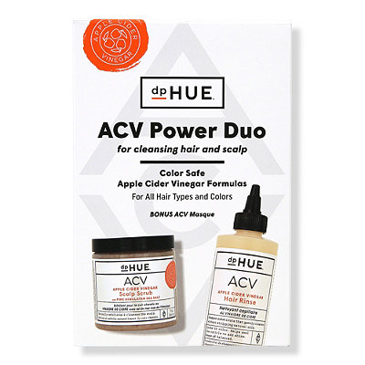 Online Only ACV Hair Rinse and Scalp Scrub Duo
