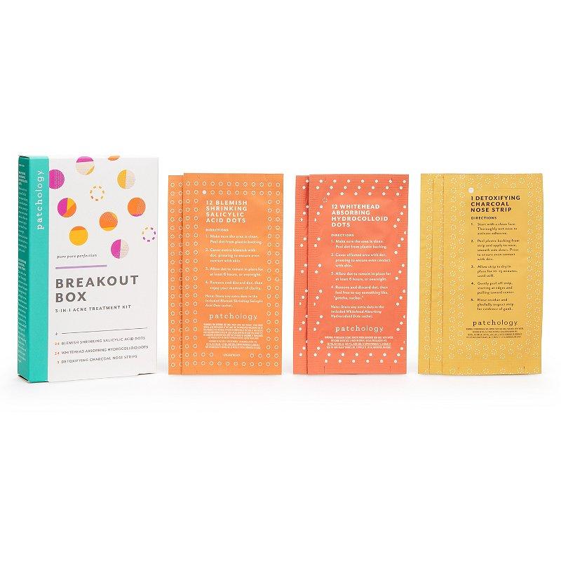 Patchology Breakout Box 3 In 1 Acne Treatment Kit Ulta Beauty
